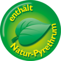 Enthält Natur-Pyrethrum