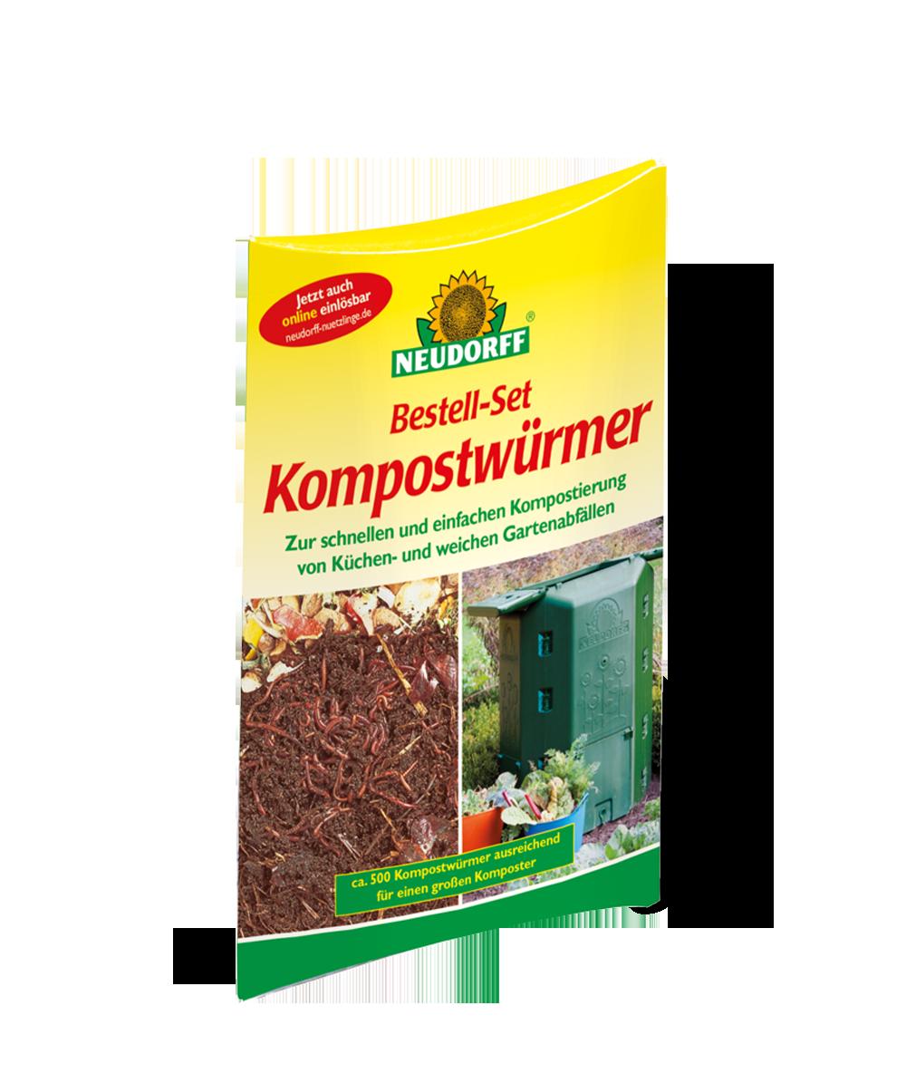 Kompostwürmer neudorff bestell set kompostwürmer