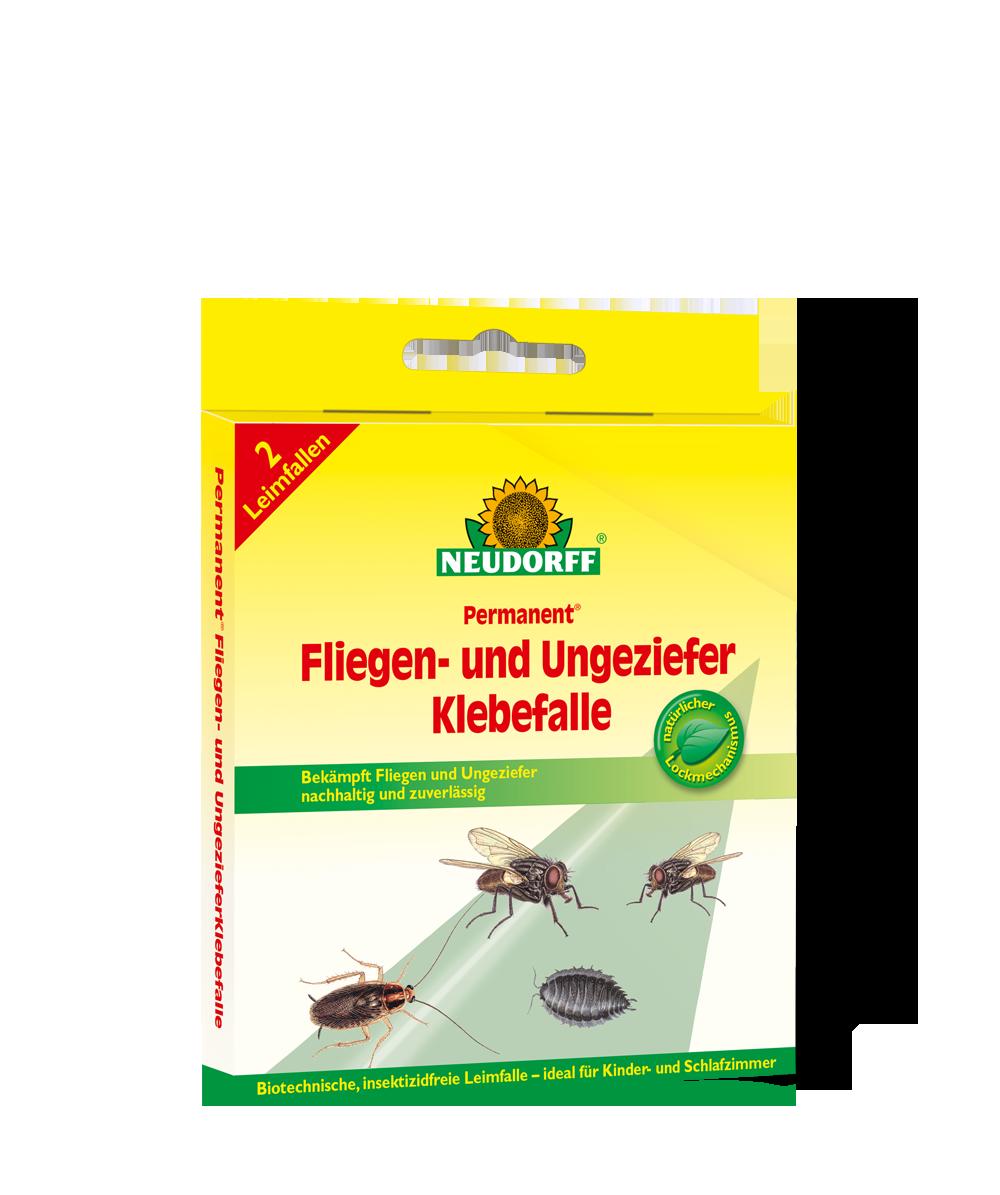 Neudorff permanent fliegen und ungezieferklebefalle for Fliegen erde zimmerpflanzen